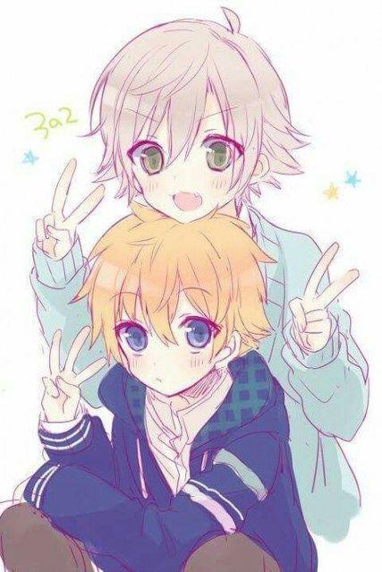 Anime Twins Anime Twins In 2020 Anime Family Anime Child Anime Baby