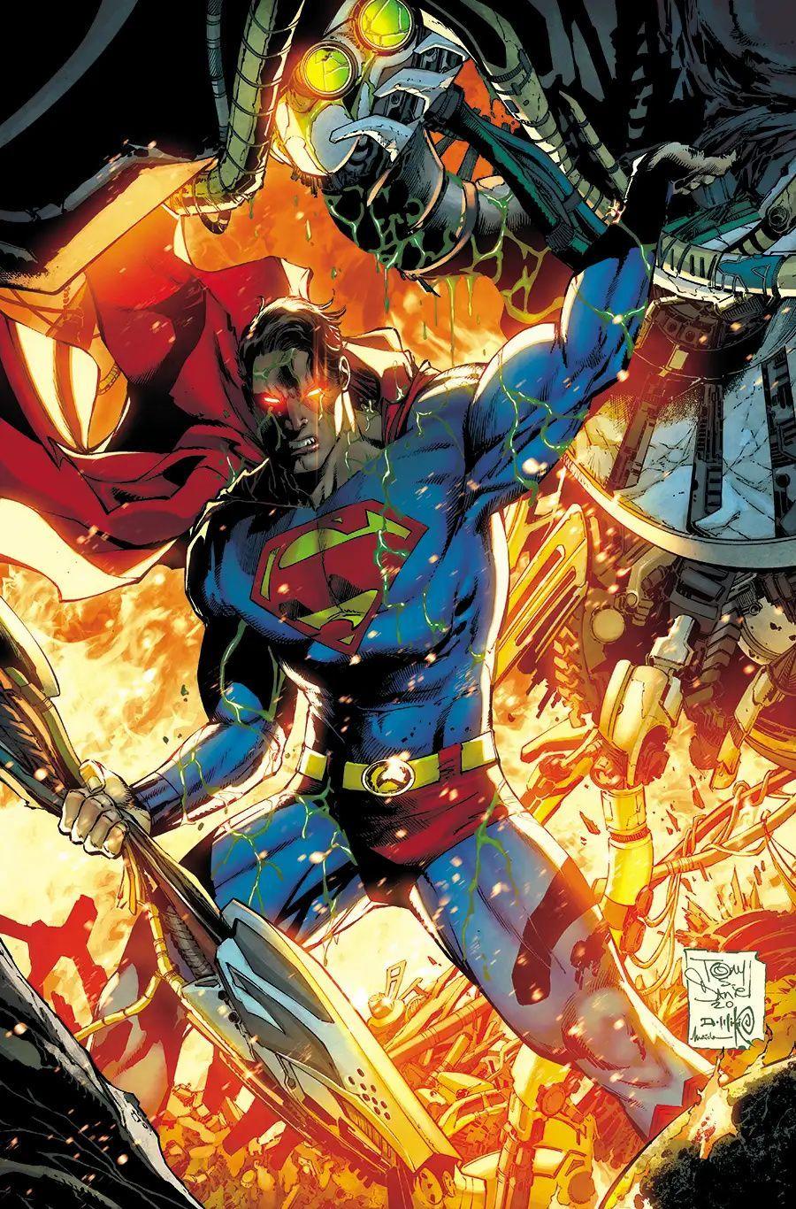 Superman #27 (Cover B - Tony S Daniel & Danny Miki Variant)