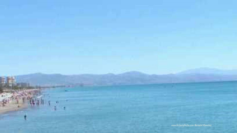 Amplitud de la bahía de Málaga