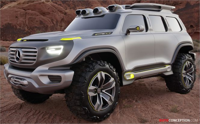 Mercedes Benz 2025 Ener G Force Suv Concept Design Study With