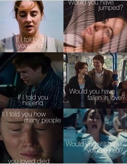 If I told you... #Divergent #TFIOS #THG