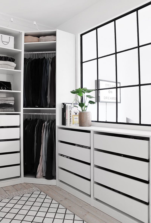 A Dreamy Walk In Closet Walk In Closet Ikea Closet Decor