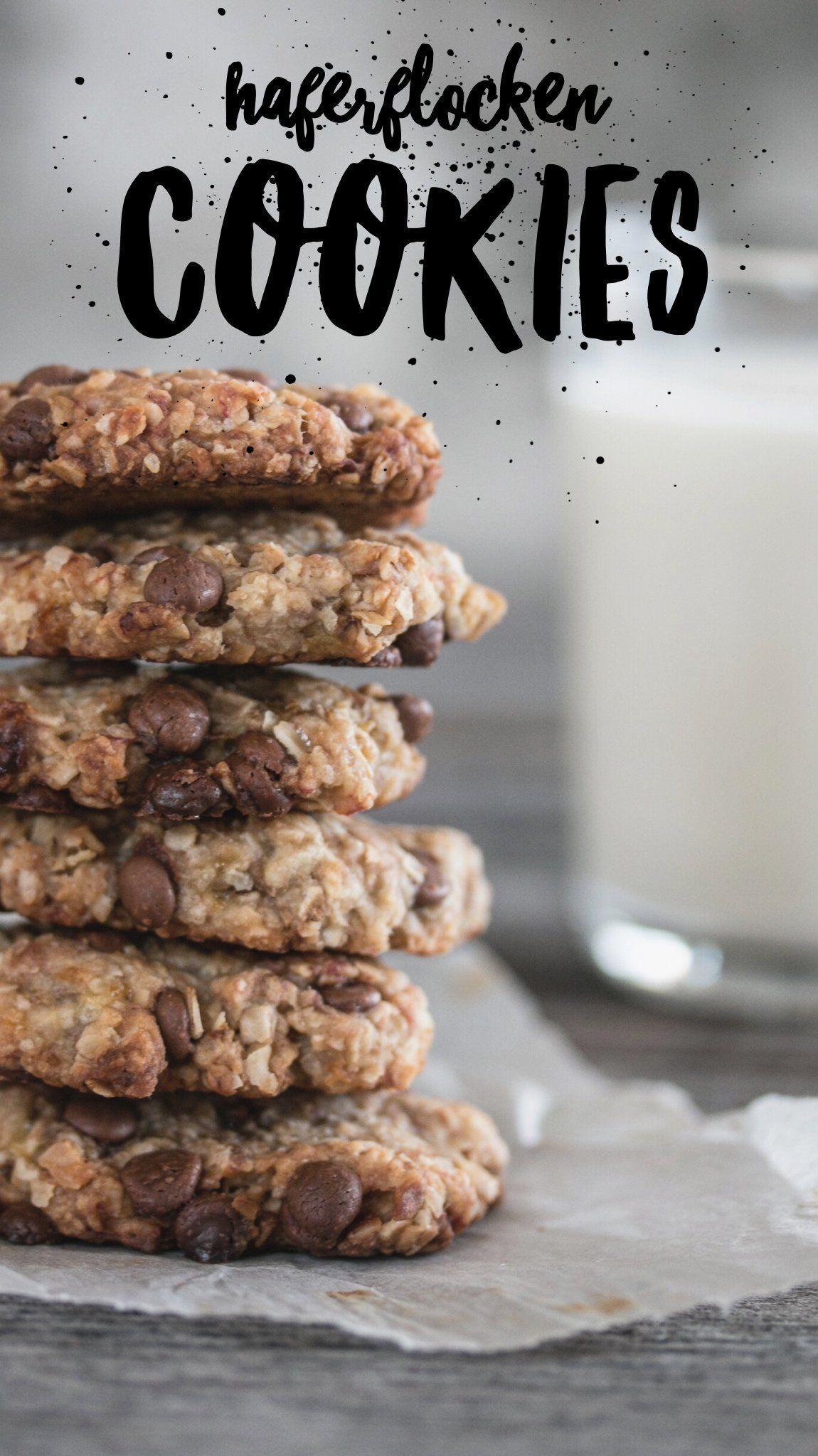 Photo of Gesunde und nahrhafte Haferflocken-Cookies mit Äpfeln, Birnen und Nüssen – Stacey&DessertRezepte