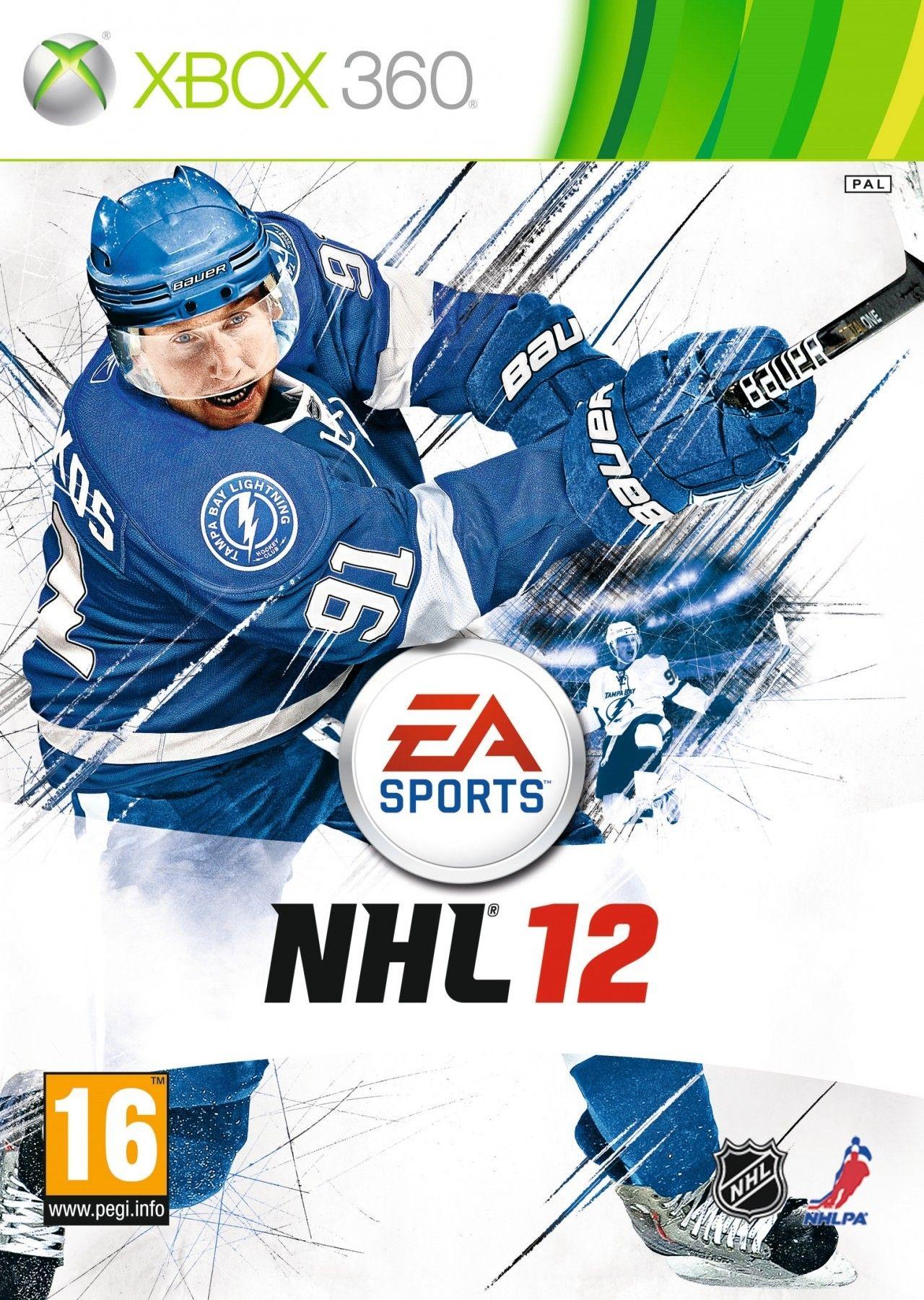 NHL 12 Xbox 360 games, Nhl, Xbox 360 video games