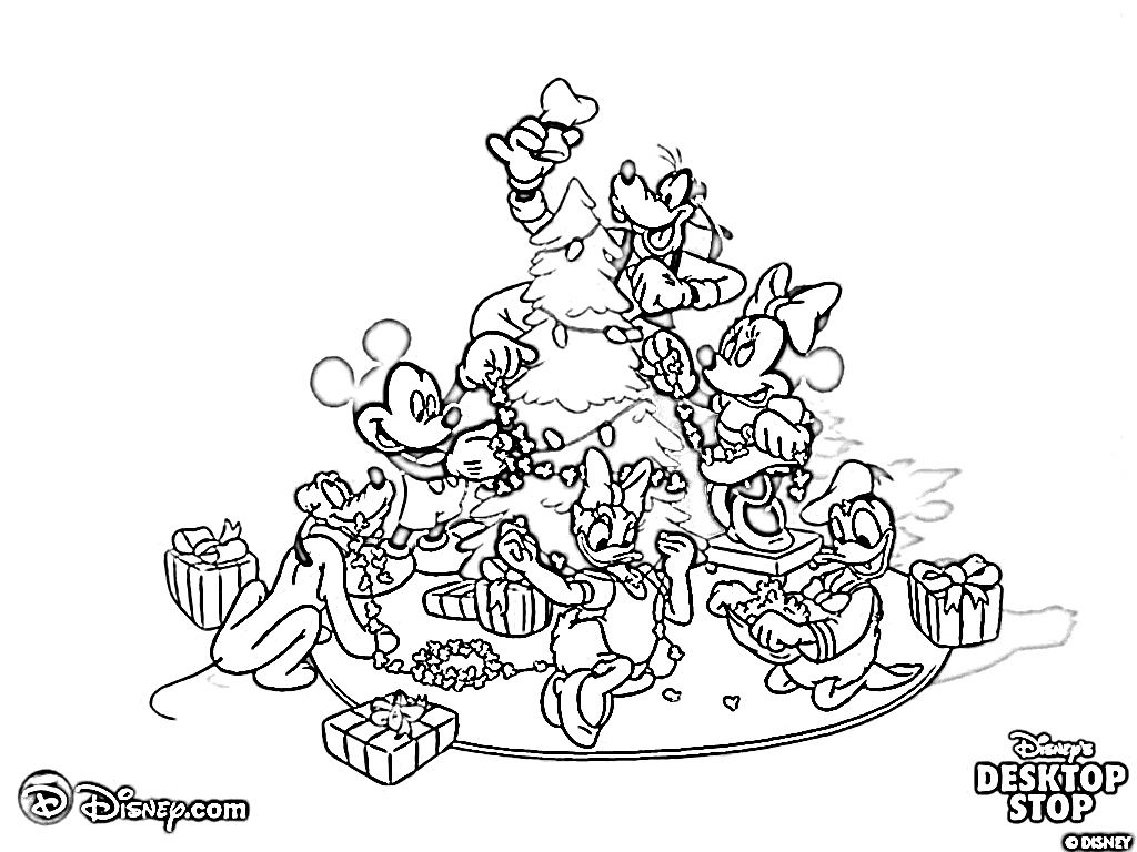 Disney Christmas Picture Coloring 54