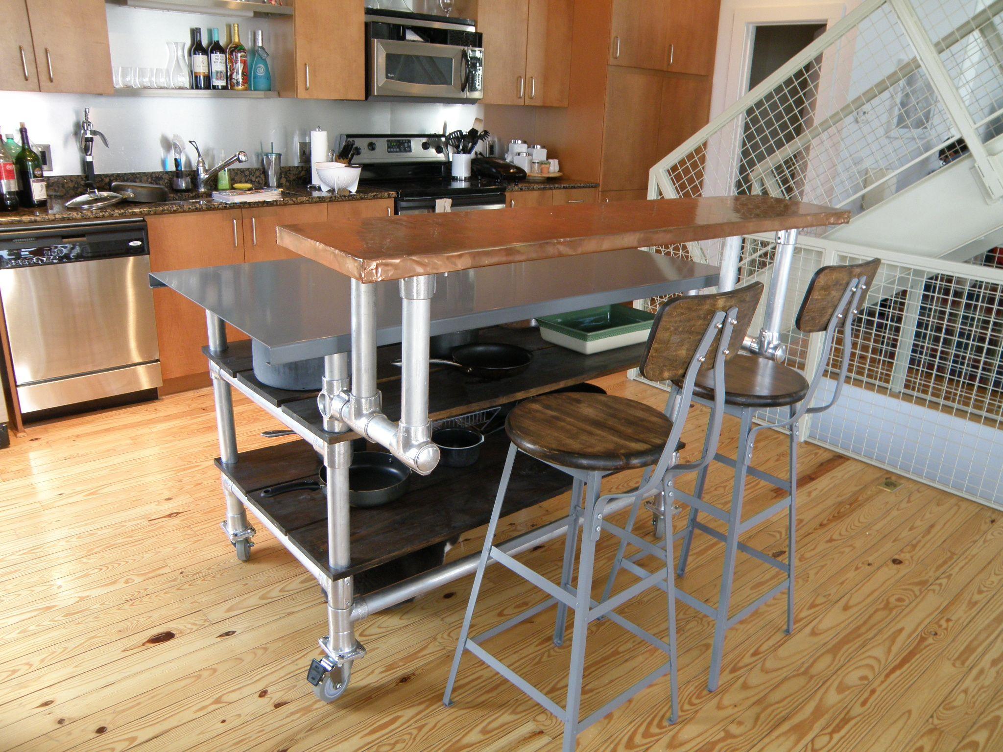 kitchen island bar. Diy Kitchen Island Bar  Seating Y Diy Kitchen Island Bar Rustic Homemade Islands 3