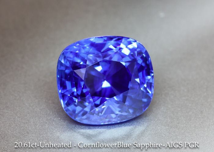diamond sapphire cornflower and ring blue