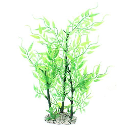 Plastic Aquarium Landscaping Bamboo Plant Decor 11 Inch G Http Www Amazon Com Dp B00tx4469u Ref Cm Sw R Pi Dp Plant Decor Bamboo Plants Bamboo Plant Decor
