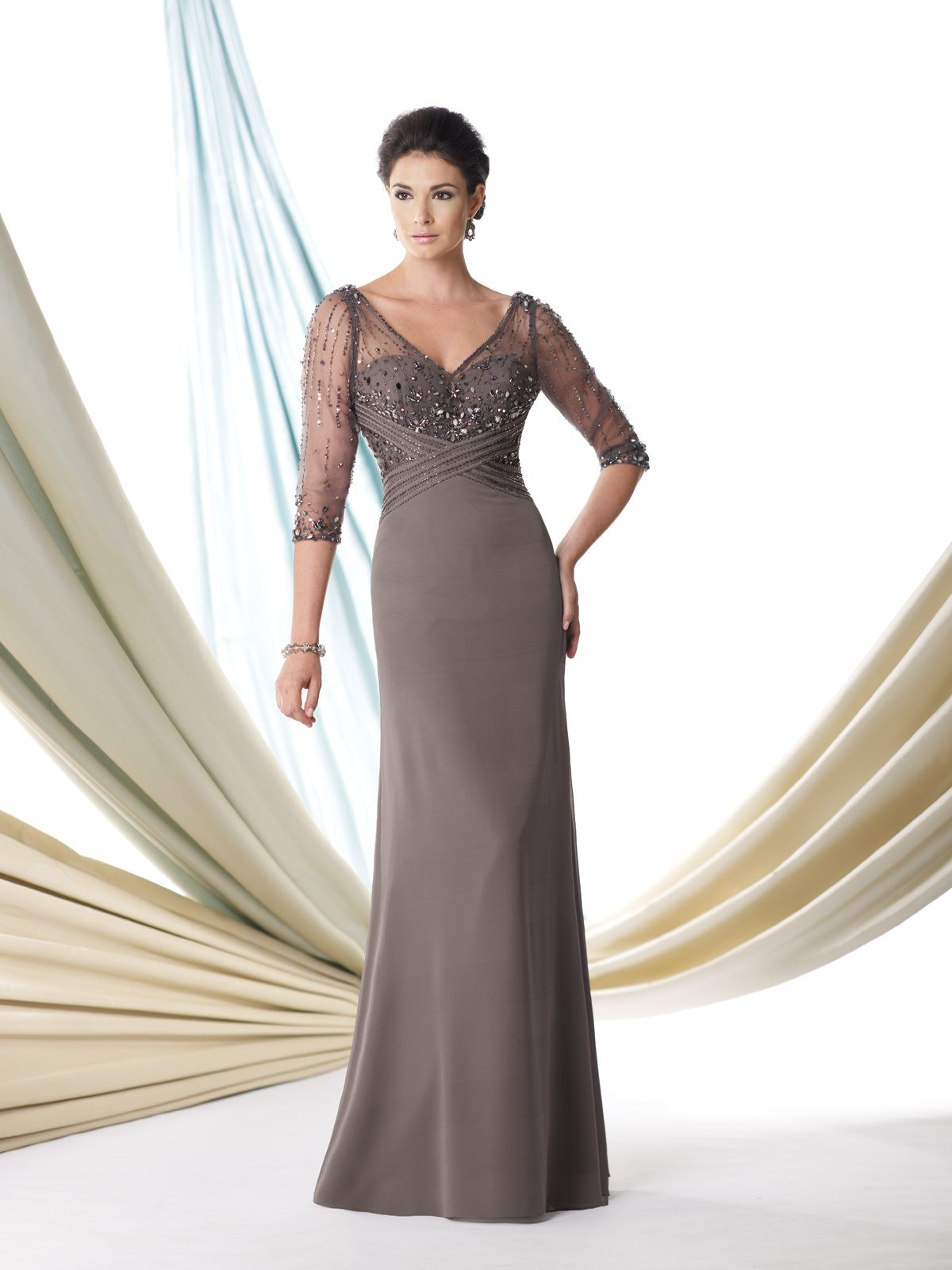 afc759bb0fa Montage dress in Taupe. | mother of the wedding dresses | Wedding ...