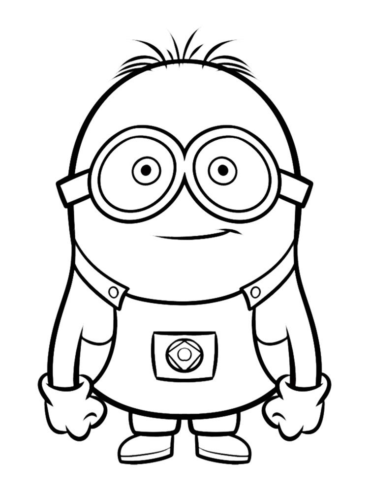 Image Result For Raskraski Minion Coloring Pages Minions Coloring Pages Cool Coloring Pages