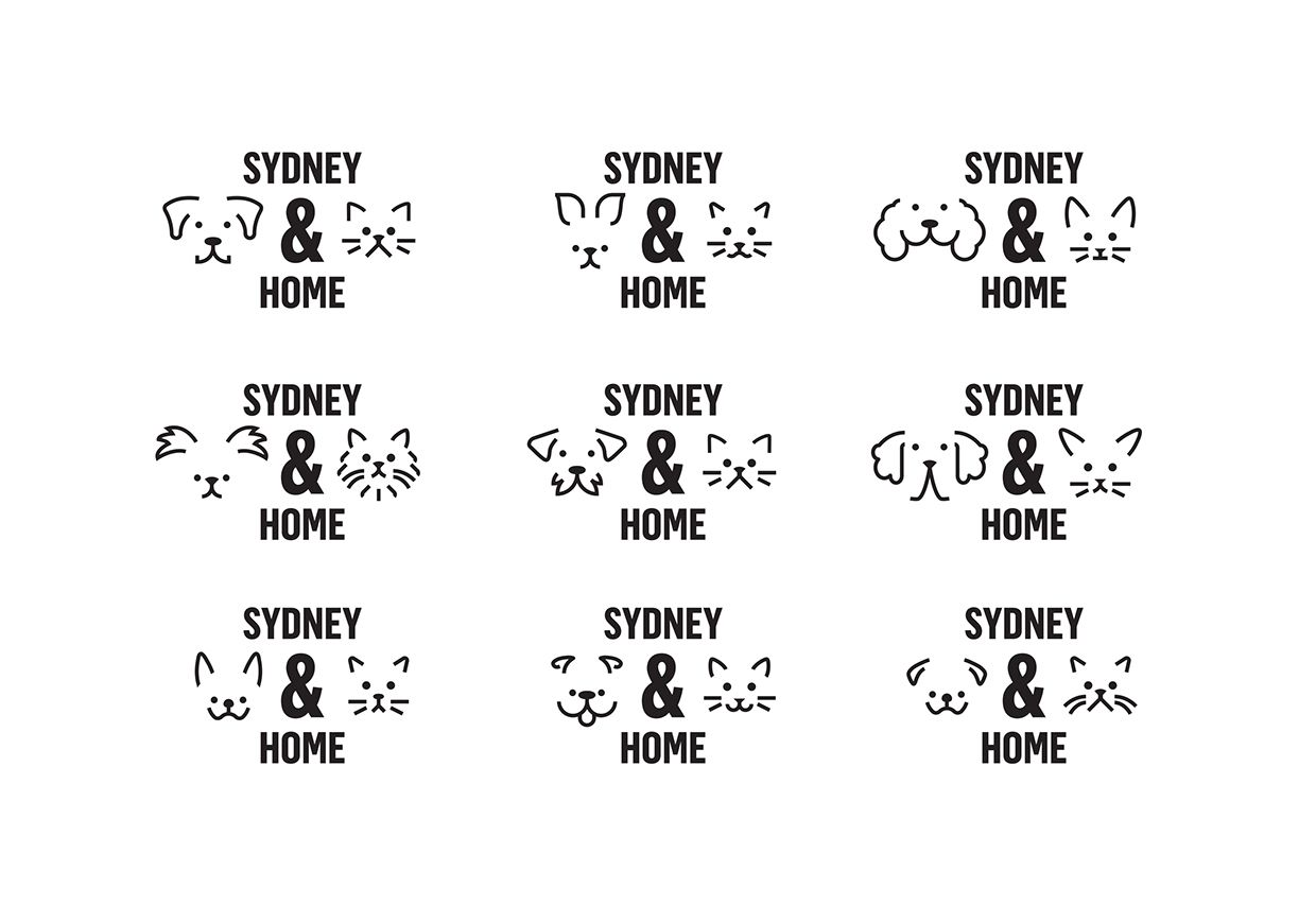 Sydney Dogs Amp Cats Home On Behance