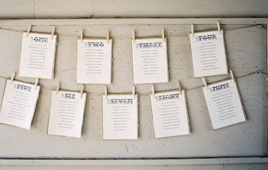 day of wedding stationery inspiration and ideas seating charts via oh so beautiful paper