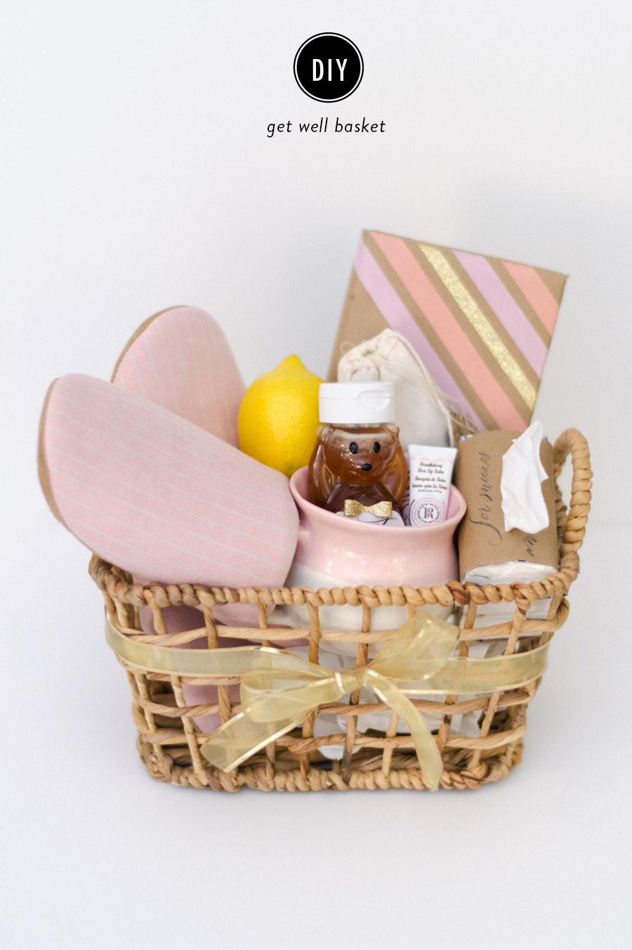DIY Get Well Gift Basket