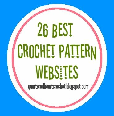 Quartered Heart Crochet: 26 Best Free Crochet Pattern Websites