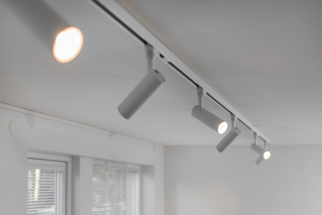 Ceiling Mount Track Lighting Flush