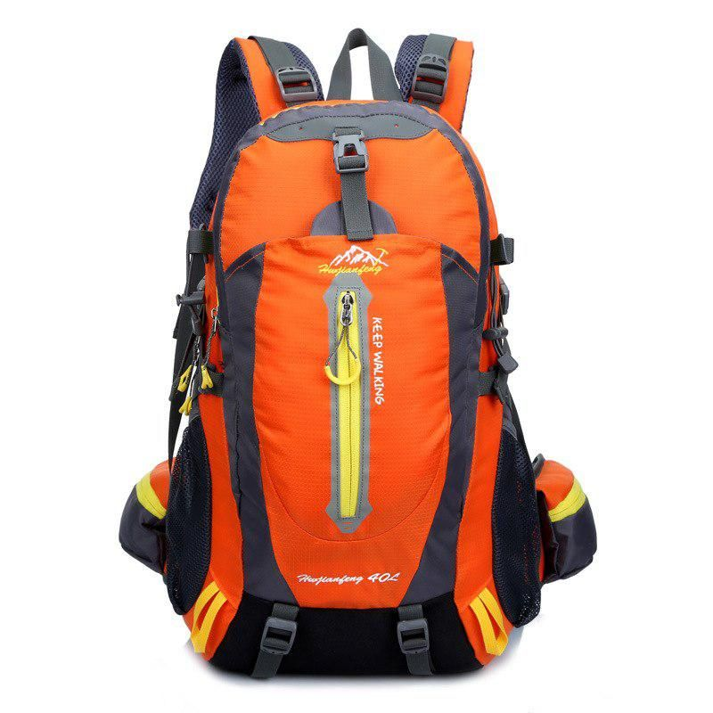 40L Large Waterproof Backpack Hiking Rucksack School Outdoor Bag Unisex