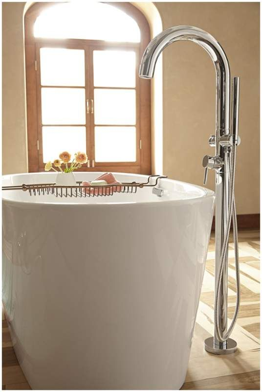 American Standard 2064 951 Freestanding Tub Filler Free
