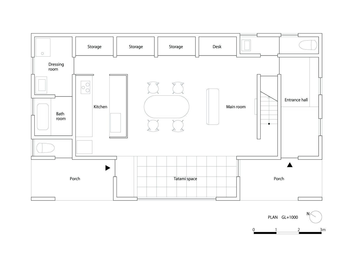 Galería de Casa Flotante / Shuhei Goto Architects - 16