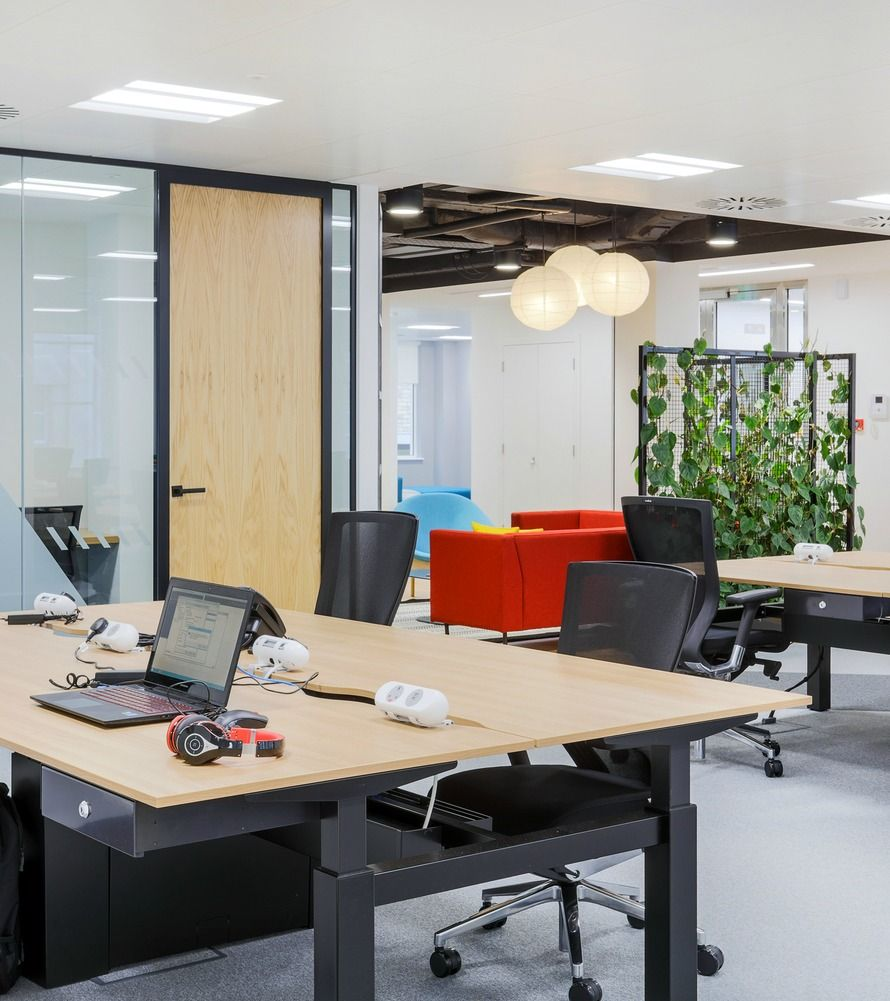 funky office design. Living Walls \u0026 Funky Floors: MRI Software Fit Out. Open Plan Office Design \u003e\u003e I
