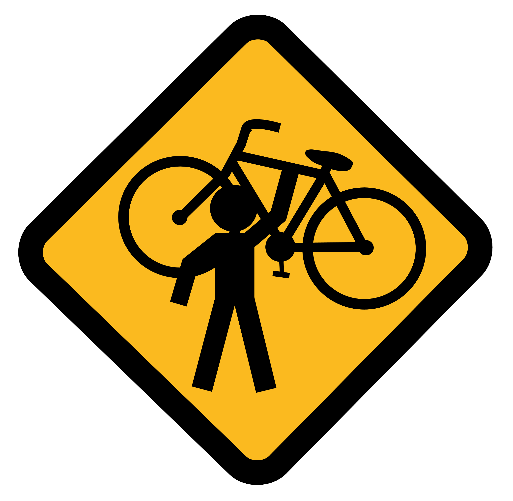 Critical Mass Sign By Madcatx On Deviantart Bicicleta Estampas Garrafas Decoradas