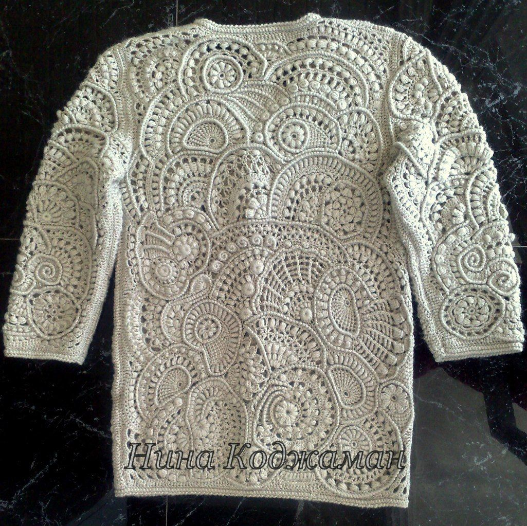 Фотографии Фриформ, ирландское кружево и другое вязание.