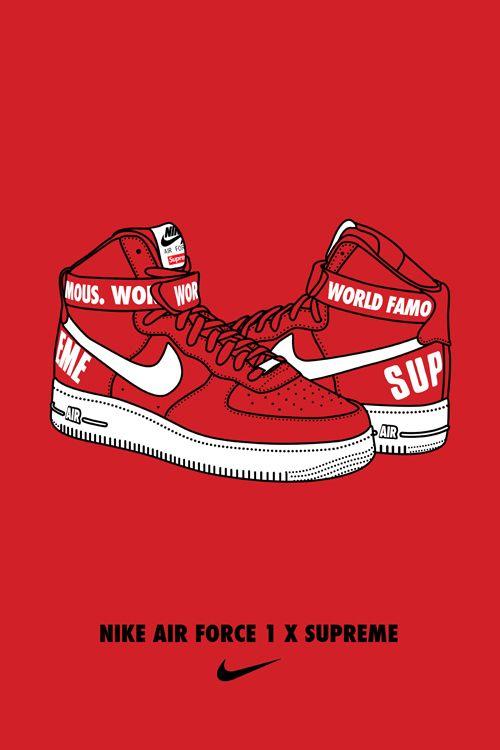 Adaptado Escudriñar Previsión  Cartoon Nike Wallpaper Shoes
