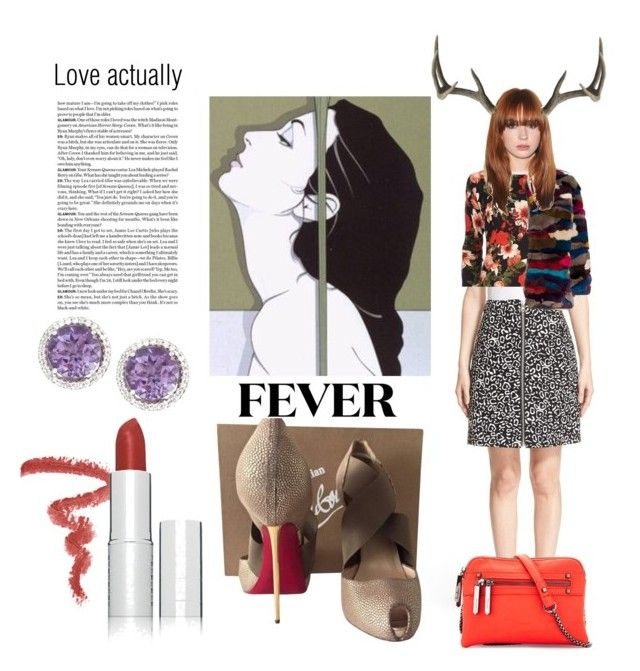 """Love of feeling is slavery"" by isteely ❤ liked on Polyvore featuring michael marcus cosmetics, CeCe by Cynthia Steffe, Opening Ceremony, Cusp by Neiman Marcus, Christian Louboutin and Neiman Marcus"