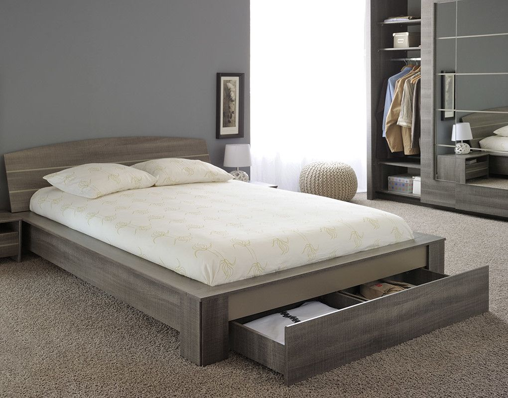 Split Queen Platform Bed | bed | Pinterest