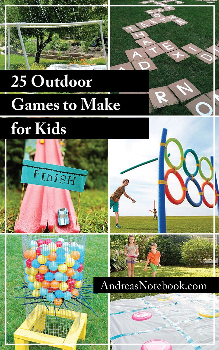 25 Outdoor Games To Make For Kids I M Definitely Making