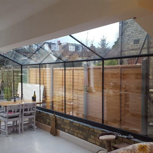 Frameless Glass Roofs, Vertical and Horizontal · 1st ...