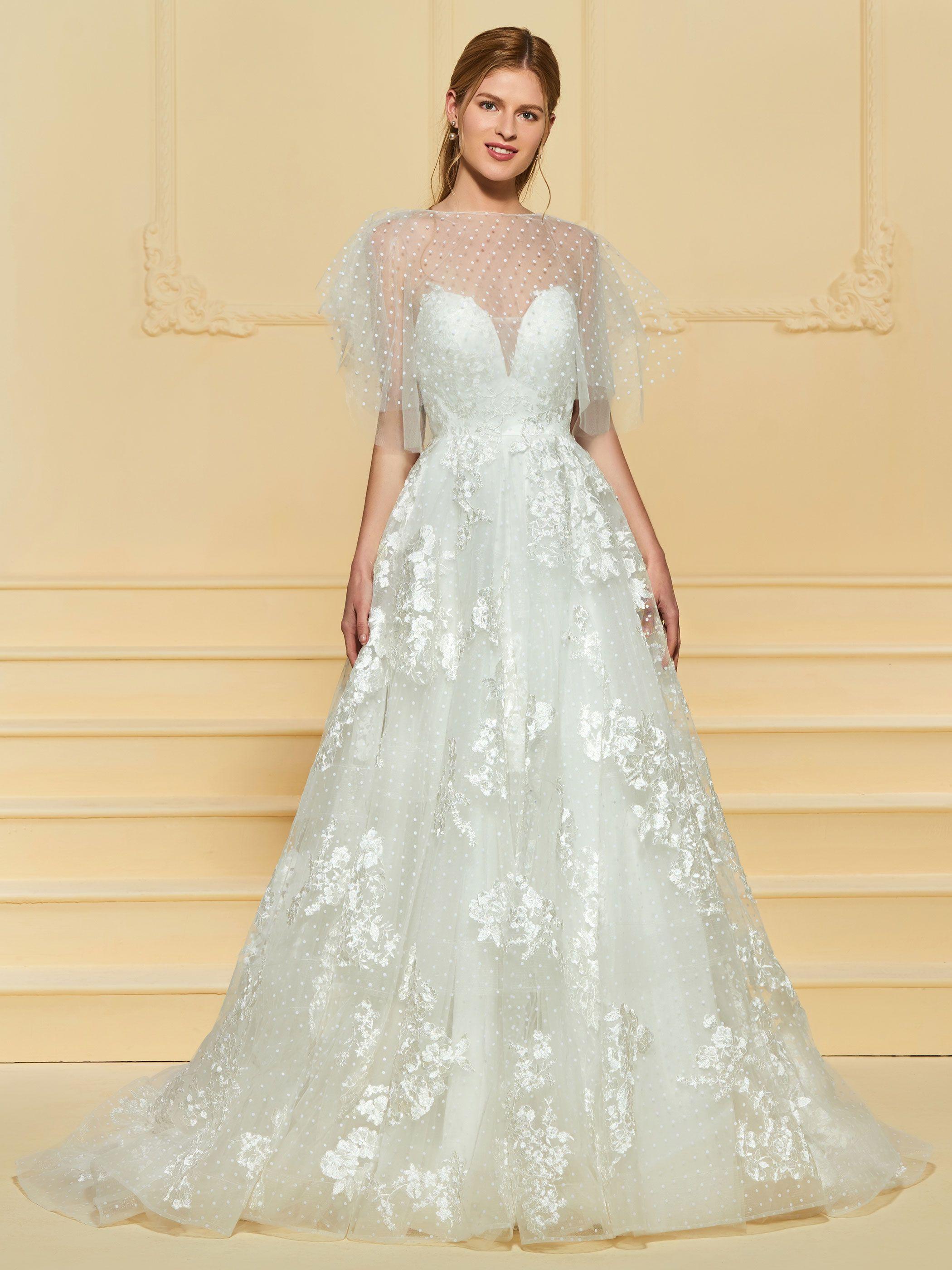 Lace Appliques Wedding Dress With Shawl Lace Applique Wedding Dress Applique Wedding Dress Wedding Dresses [ 2800 x 2100 Pixel ]