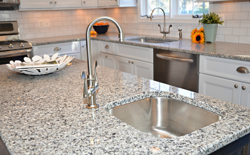 azul crystal granite kitchen countertops | Independence Drive ...