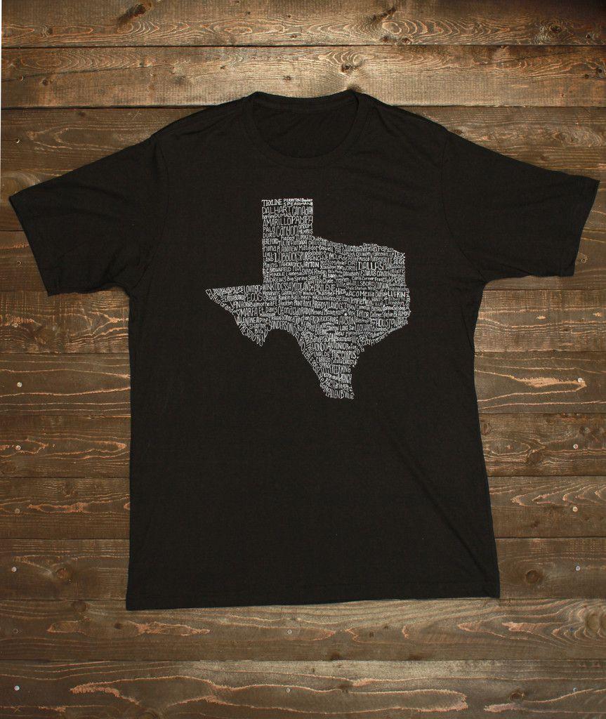 30c10466d Texas Towns T-Shirt - Mens (7 Color Options)   Texas = Home ...