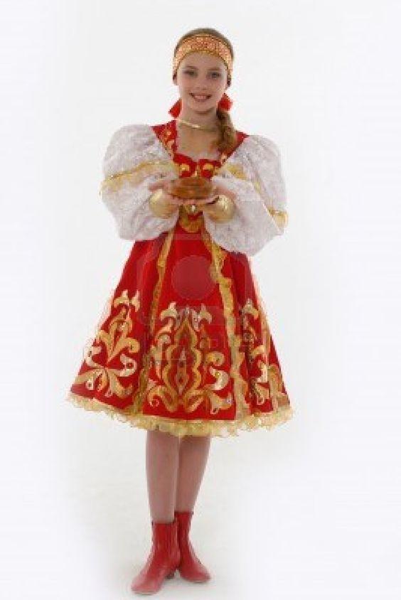 costume traditionnel russe Costume traditionnel, Tenue