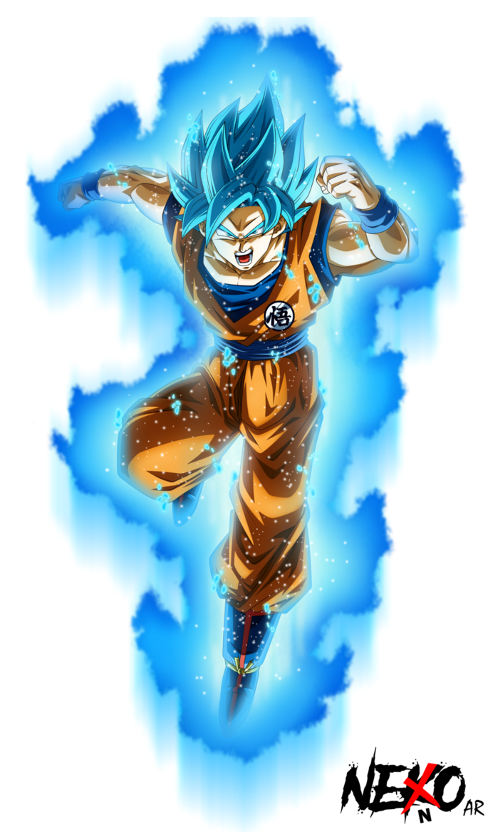 Goku Super Sayajin Blue Dragon Ball Super Bardack Pinterest