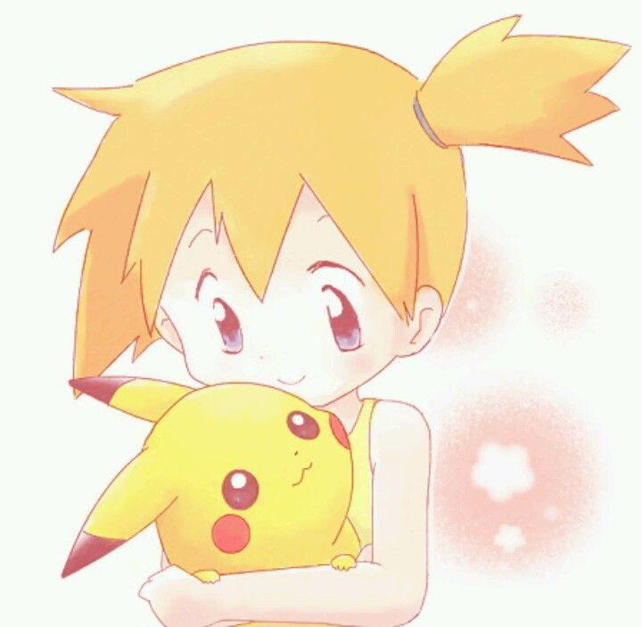 Misty And Pikachu 3 So Cute 3 Pikachu Cute Pokemon Pokemon