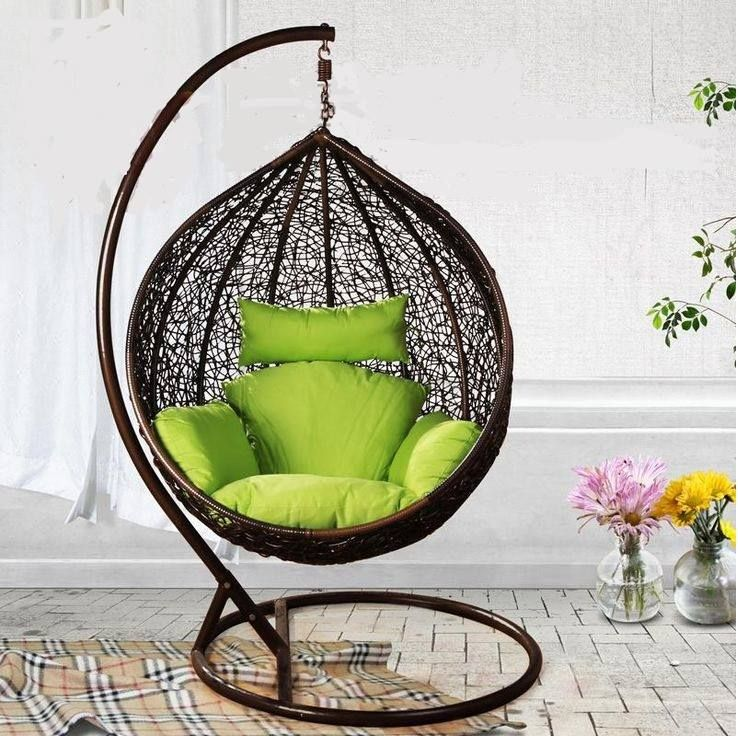 Online Shop Casual Rattan Furniture Rattan Rocking Chair Bird Nest Hanging  Chair Hammock Swing Rattan Chair Indoor Rattan Hanging Basket S