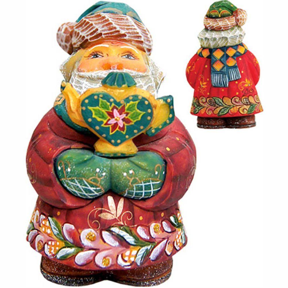 Derevo Teapot Santa