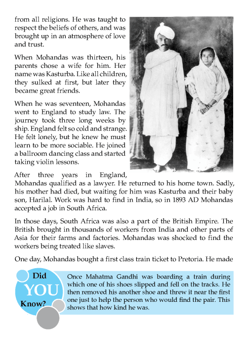 Mahatma Gandhi Biography In English Essay Literature Grade Gandhi