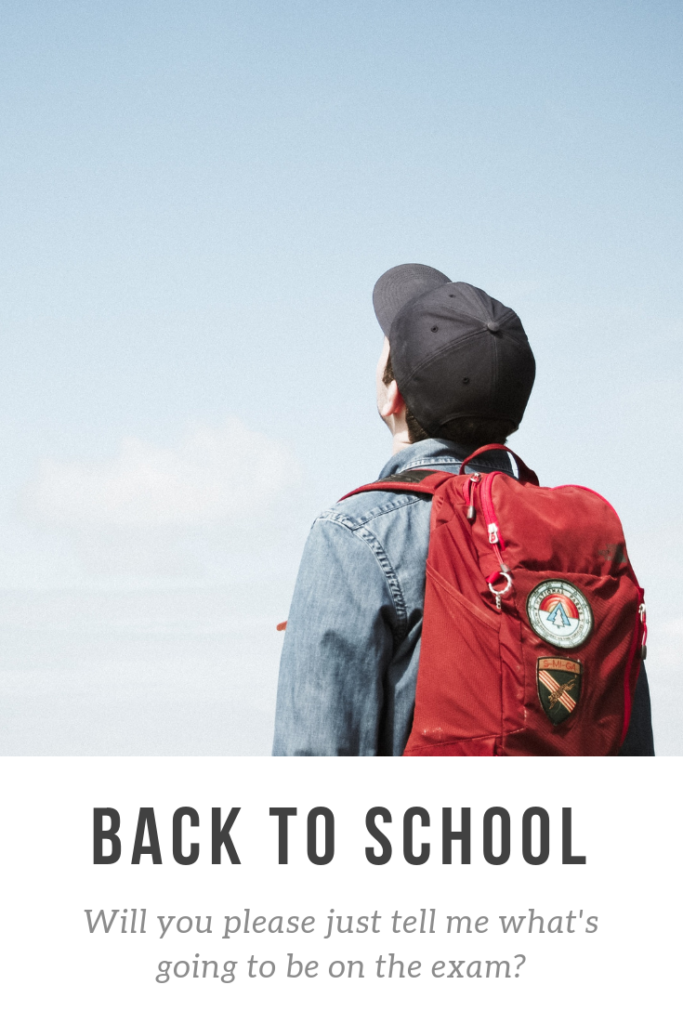 back to school where you can take an online class