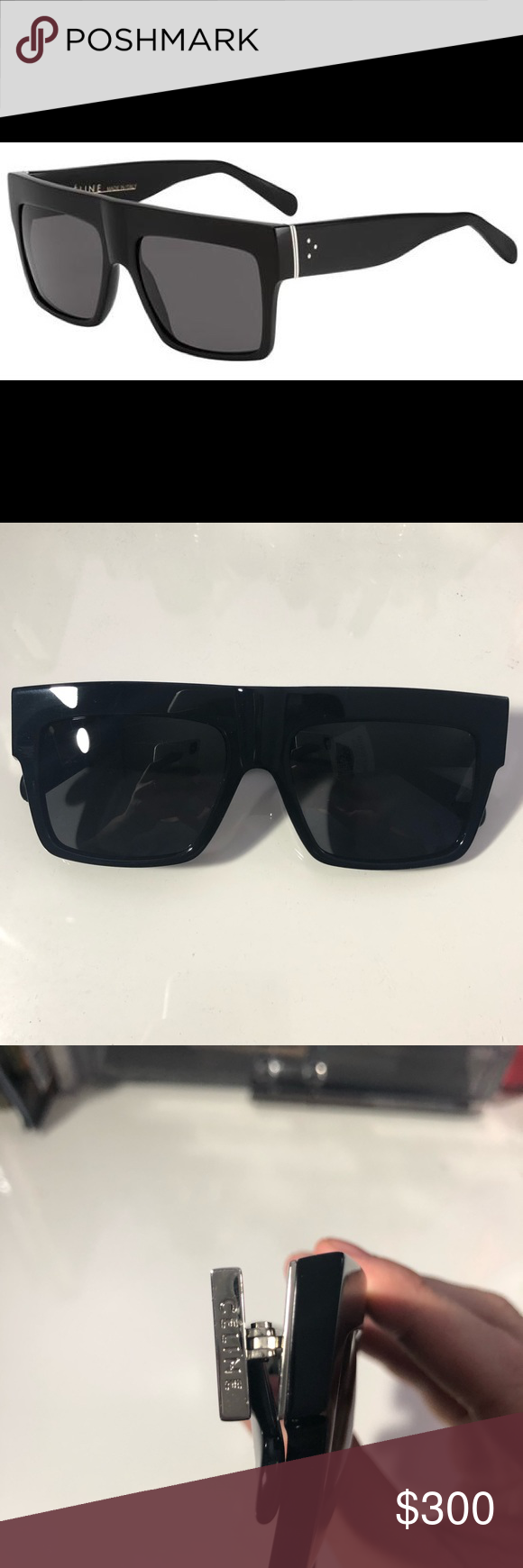 643605917e9 Celine ZZ Top Sunglasses CL 41756 Brand new with tags attached and comes  with original pouch Celine Accessories Sunglasses
