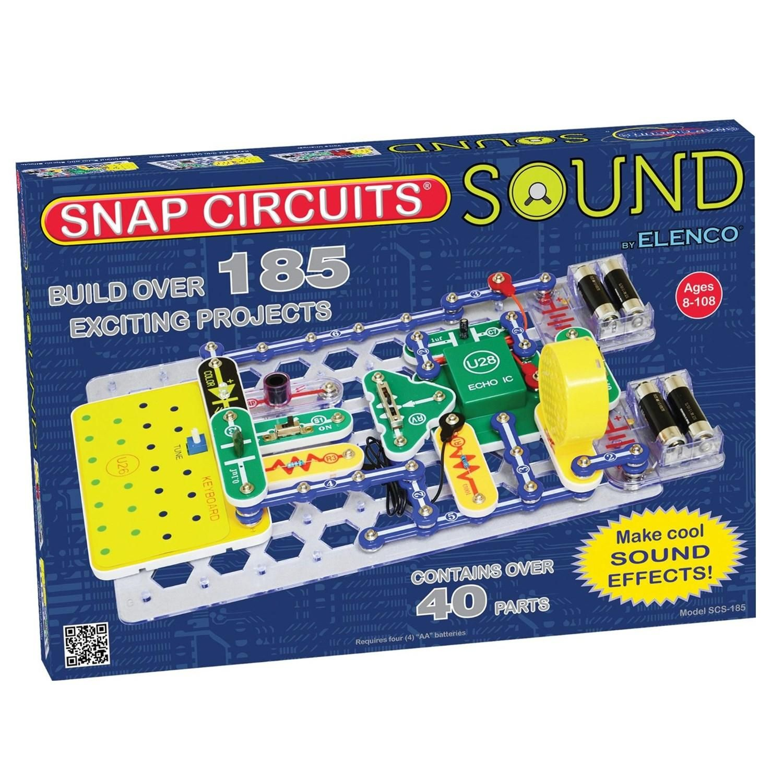 Snap Circuits Sound Kit Electronic Toy Wonders Pinterest