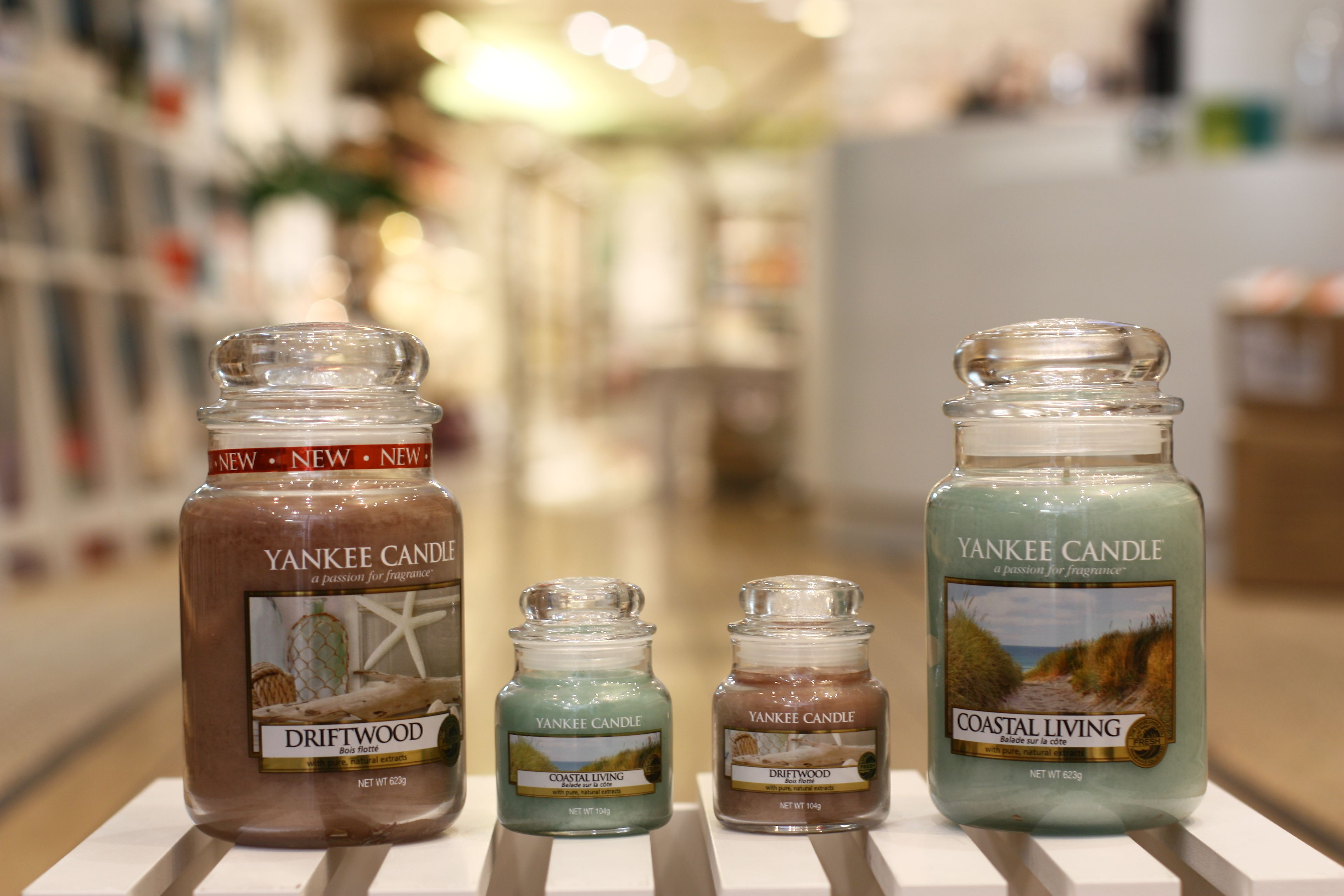 Duo de bougies coastal living u driftwood yankee candle