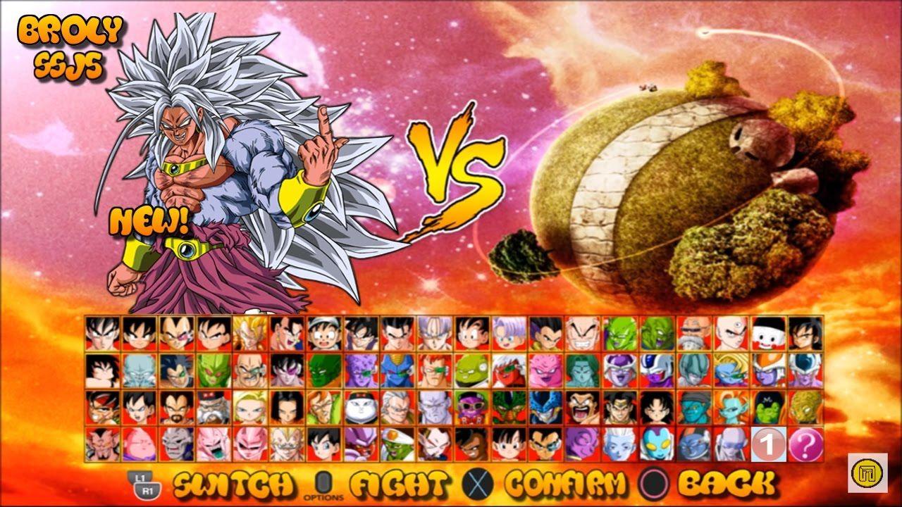 Dragon Ball Z Budokai Tenkaichi 4 Game Concept Ssj5 Pack