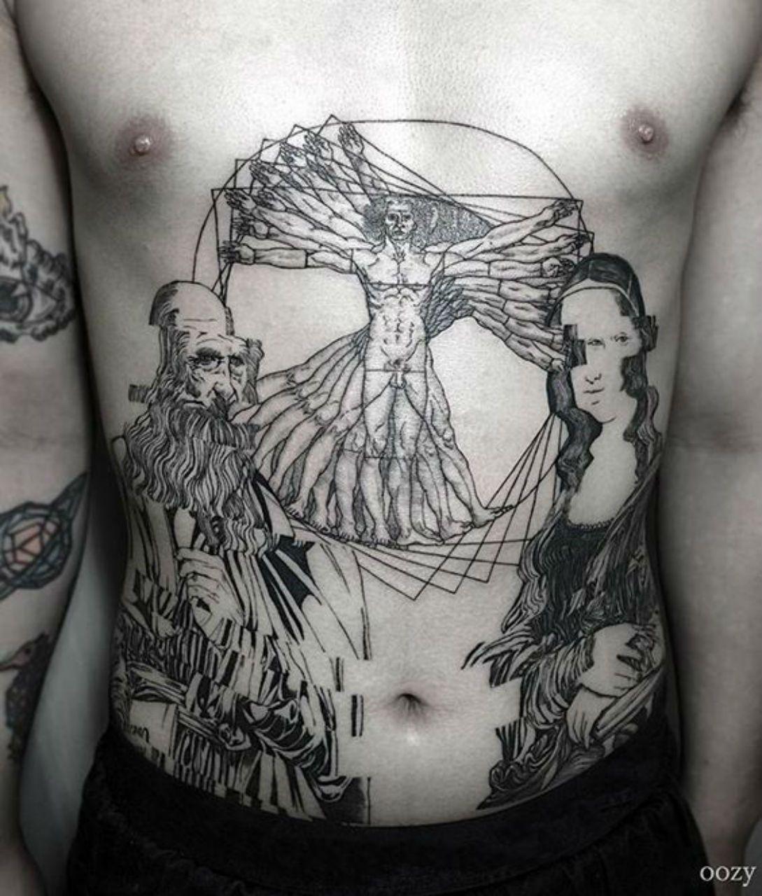 Thievinggenius Vitruvian Man Tattoo Tattoos For Guys Tattoo Designs Men