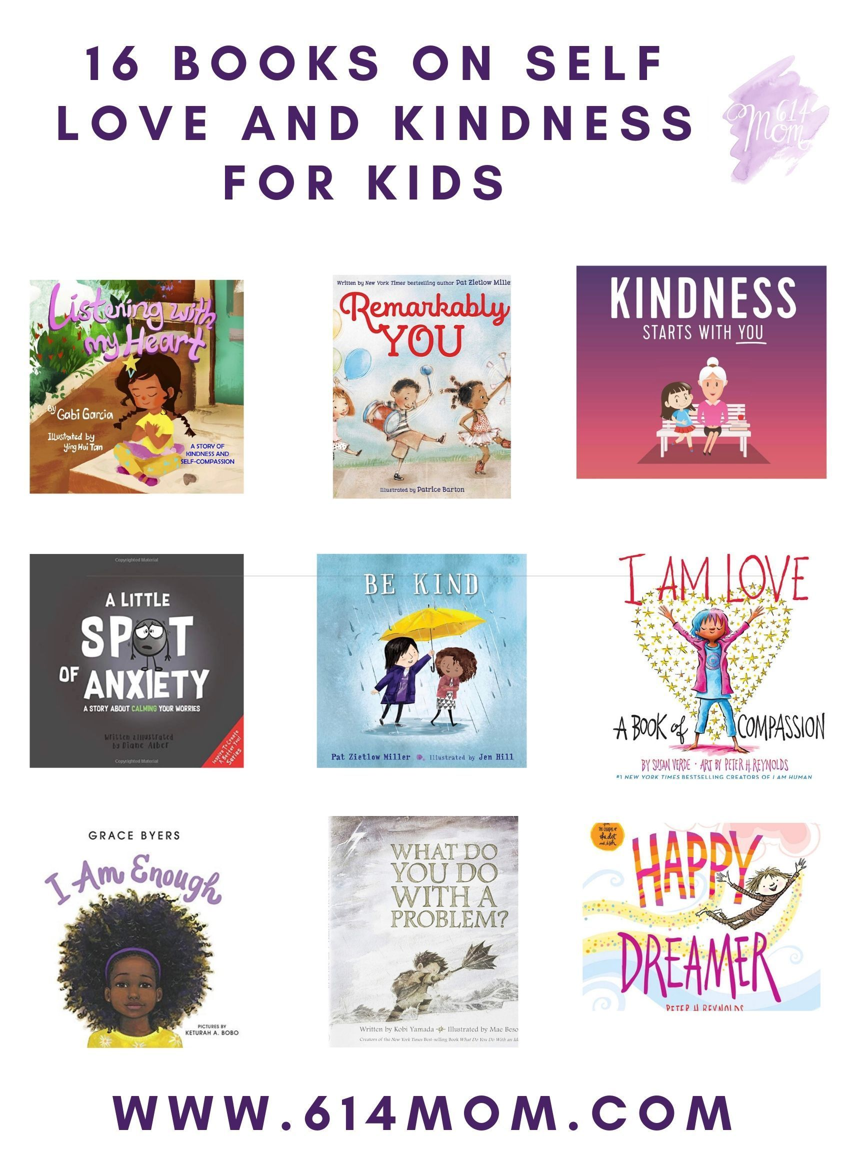16 Books On Kindness And Self Love For Kids