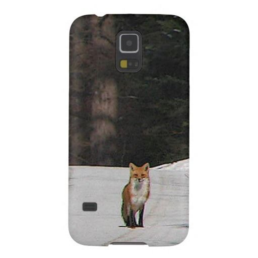 Red Fox on Hilltop Galaxy S5 Case