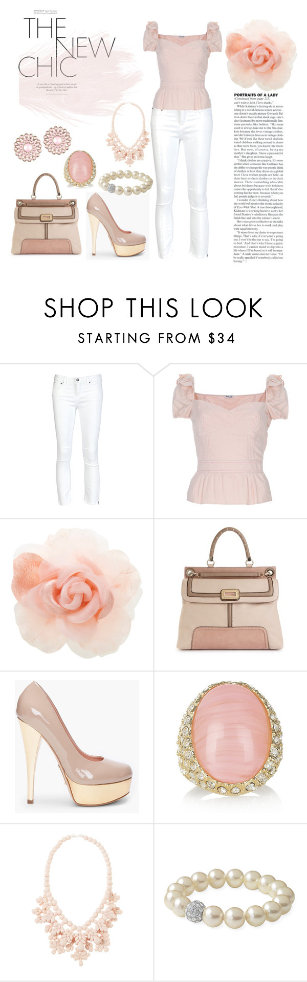 """""""Pastel"""" by koniikonii ❤ liked on Polyvore featuring Helmut Lang, Miu Miu, Warehouse, GUESS, Alejandro Ingelmo, Kenneth Jay Lane, Stella & Dot and ALDO"""