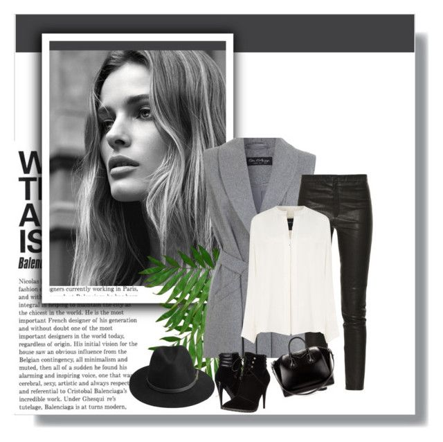 """Winter Look"" by carllla ❤ liked on Polyvore featuring Miss Selfridge, Isabel Marant, Derek Lam, BeckSöndergaard, C Label and Givenchy"