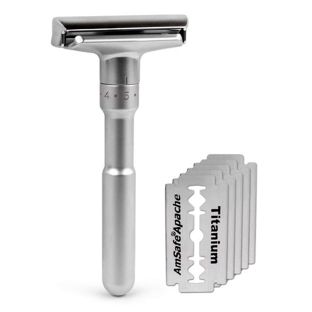 Qshave Merkur Futur Safety Replica Patent Expired Safety Razor Shaving Safety Razor Blades Safety Razor